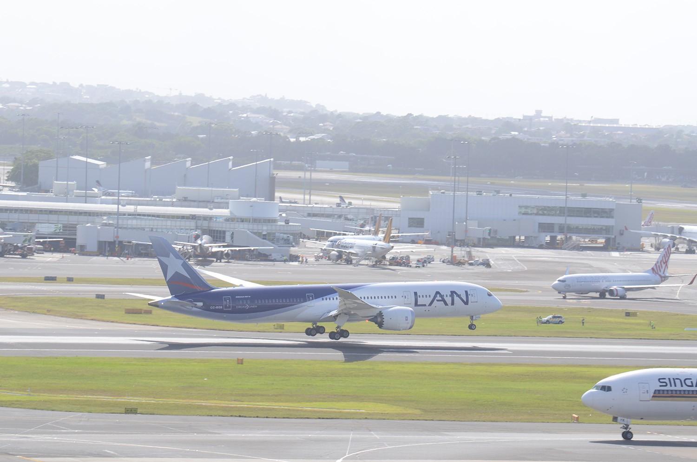 Re:[原创]迎接ANA R2D2 首航悉尼闲暇拍机一小时 B787 CC-BGB SYD