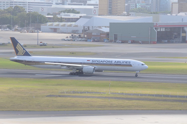 Re:[原创]迎接ANA R2D2 首航悉尼闲暇拍机一小时 B777 9V-SYK SYD