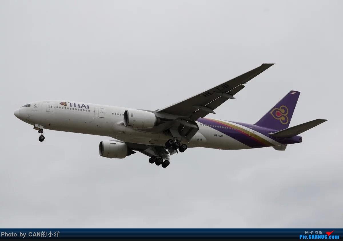 Re:[原创]12月3日白云机场西跑道拍机 BOEING 777-200 HS-JTB 中国广州白云国际机场