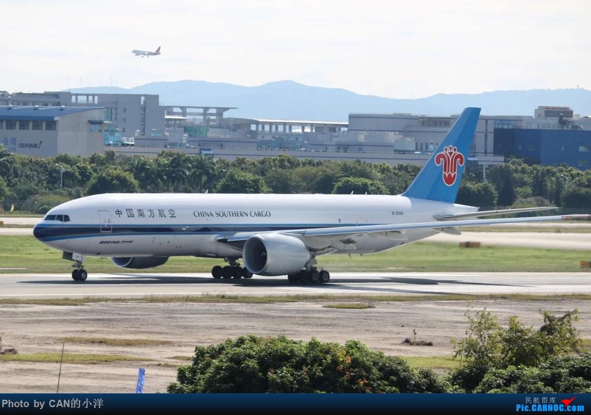 Re:[原创]12月3日白云机场西跑道拍机 BOEING 777-200 B-2026 中国广州白云国际机场