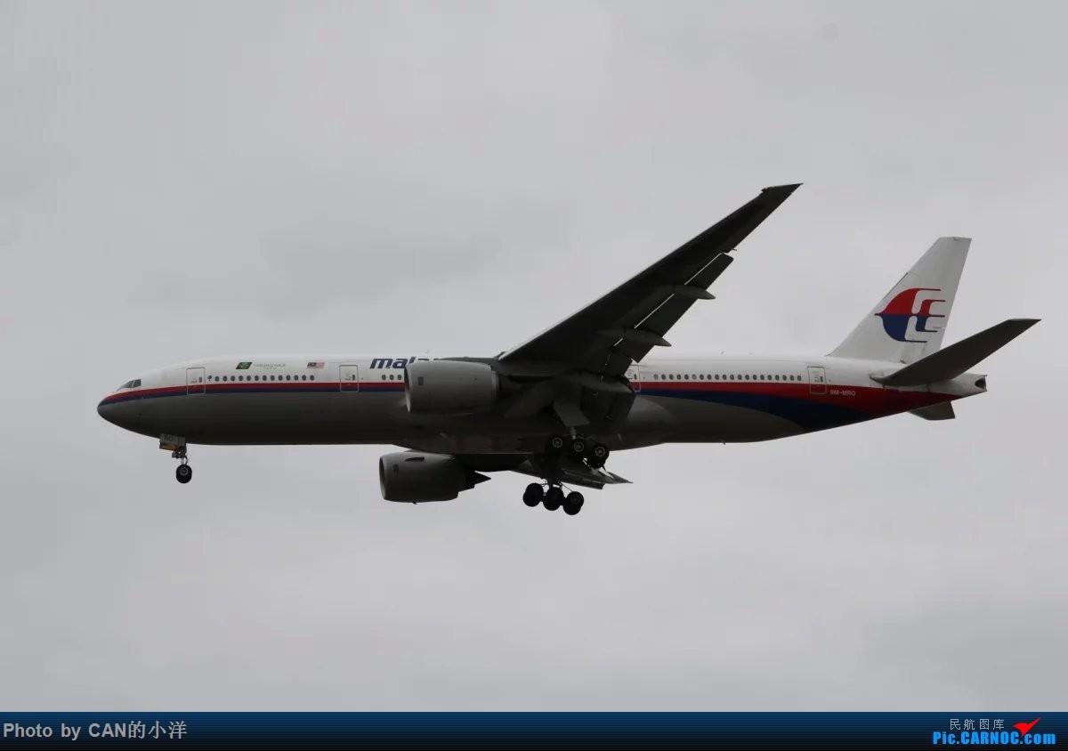 Re:[原创]12月3日白云机场西跑道拍机 BOEING 777-200 9M-MRQ 中国广州白云国际机场
