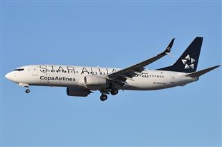 【LAX】Copa Airlines 巴拿马航空 B737-800 星空联盟涂装