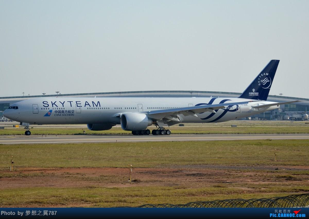 Re:[原创]2015.12.19广州白云机场拍机 BOEING 777-300ER B-2049 中国广州白云国际机场