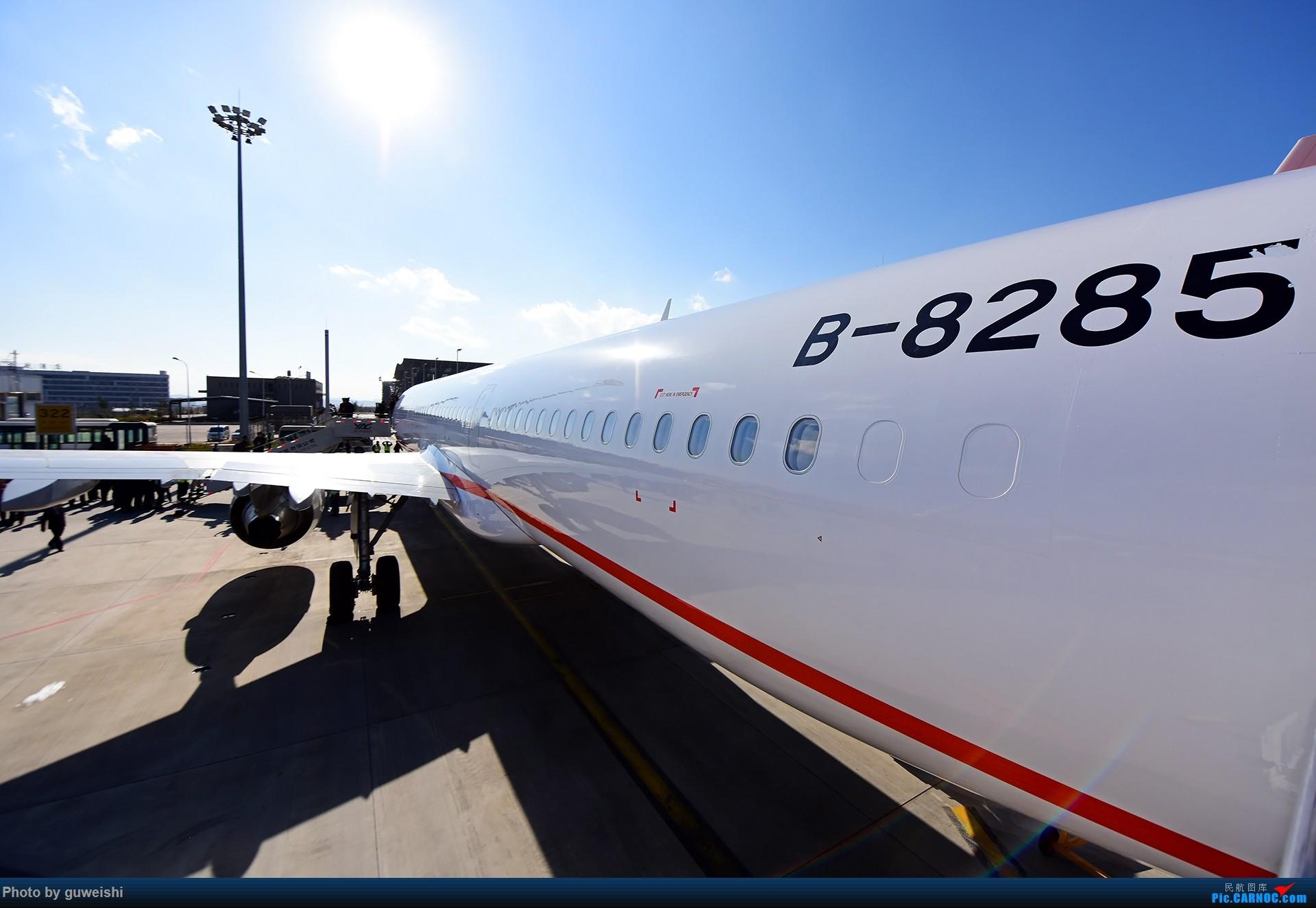 Re:[原创]【七彩天空】——你好,红土航空! AIRBUS A321-200 B-8285 中国昆明长水国际机场
