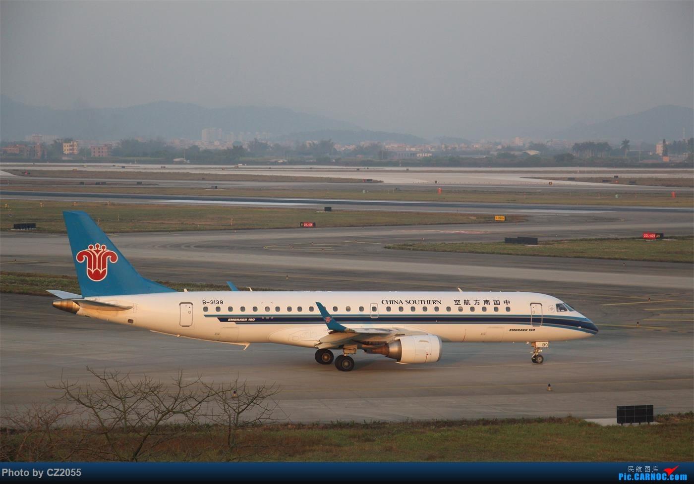 Re:[原创]【广东青少年拍机小队】【C-Z-2055】2015即将结束,来做个总结。 EMBRAER E-190 B-3139 中国广州白云国际机场