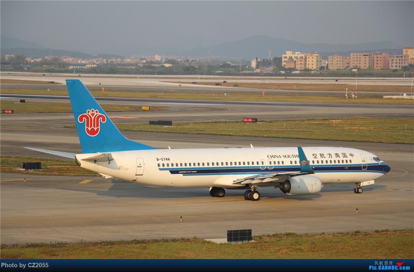 Re:[原创]【广东青少年拍机小队】【C-Z-2055】2015即将结束,来做个总结。 BOEING 737-800 B-5748 中国广州白云国际机场