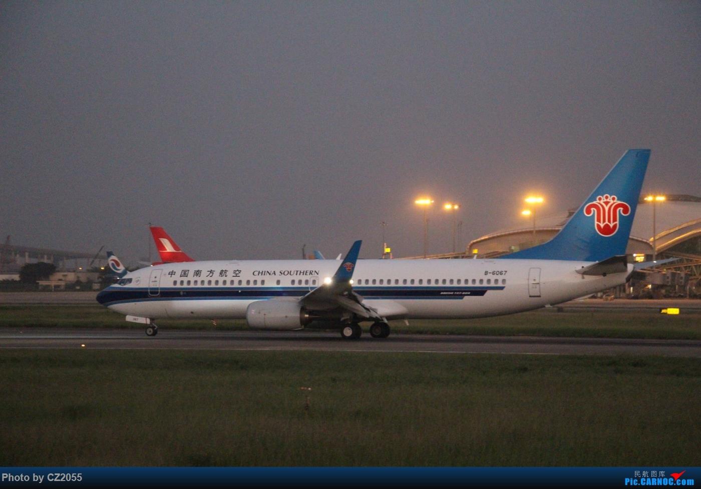 Re:[原创]【广东青少年拍机小队】【C-Z-2055】2015即将结束,来做个总结。 BOEING 737-800 B-6067 中国广州白云国际机场