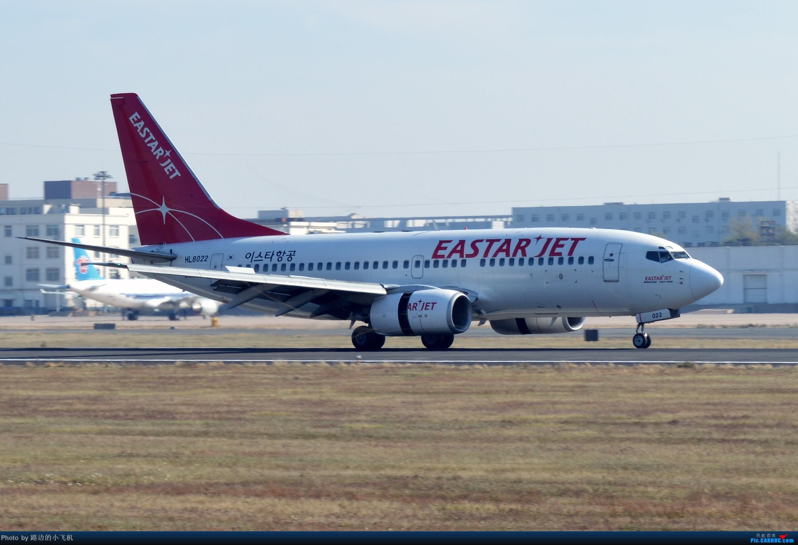Re:桃仙77F来袭,加上个人的年终拍机总结 BOEING 737-700 HL8022 沈阳桃仙国际机场