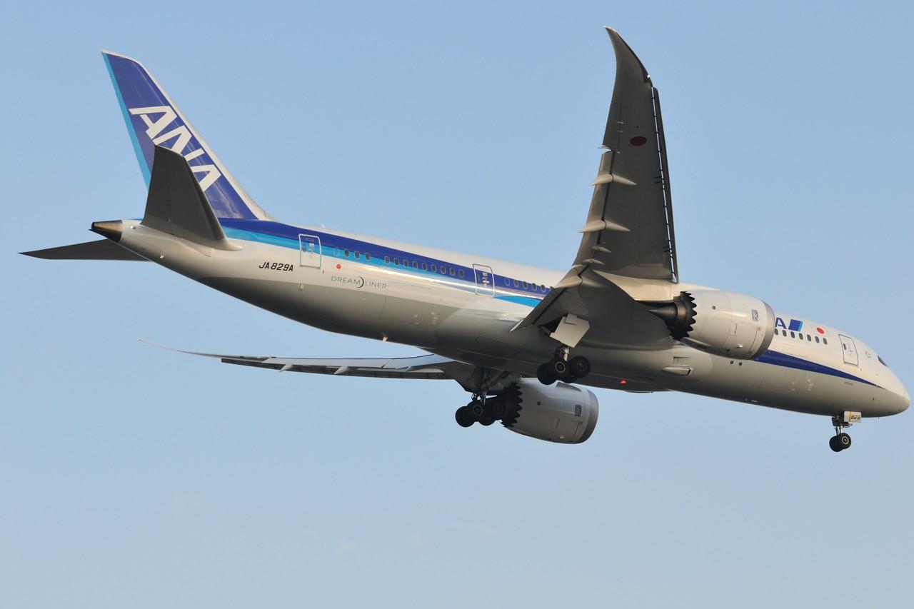 [原创]【787-8两张】 BOEING 787-8 JA829A 中国上海浦东国际机场