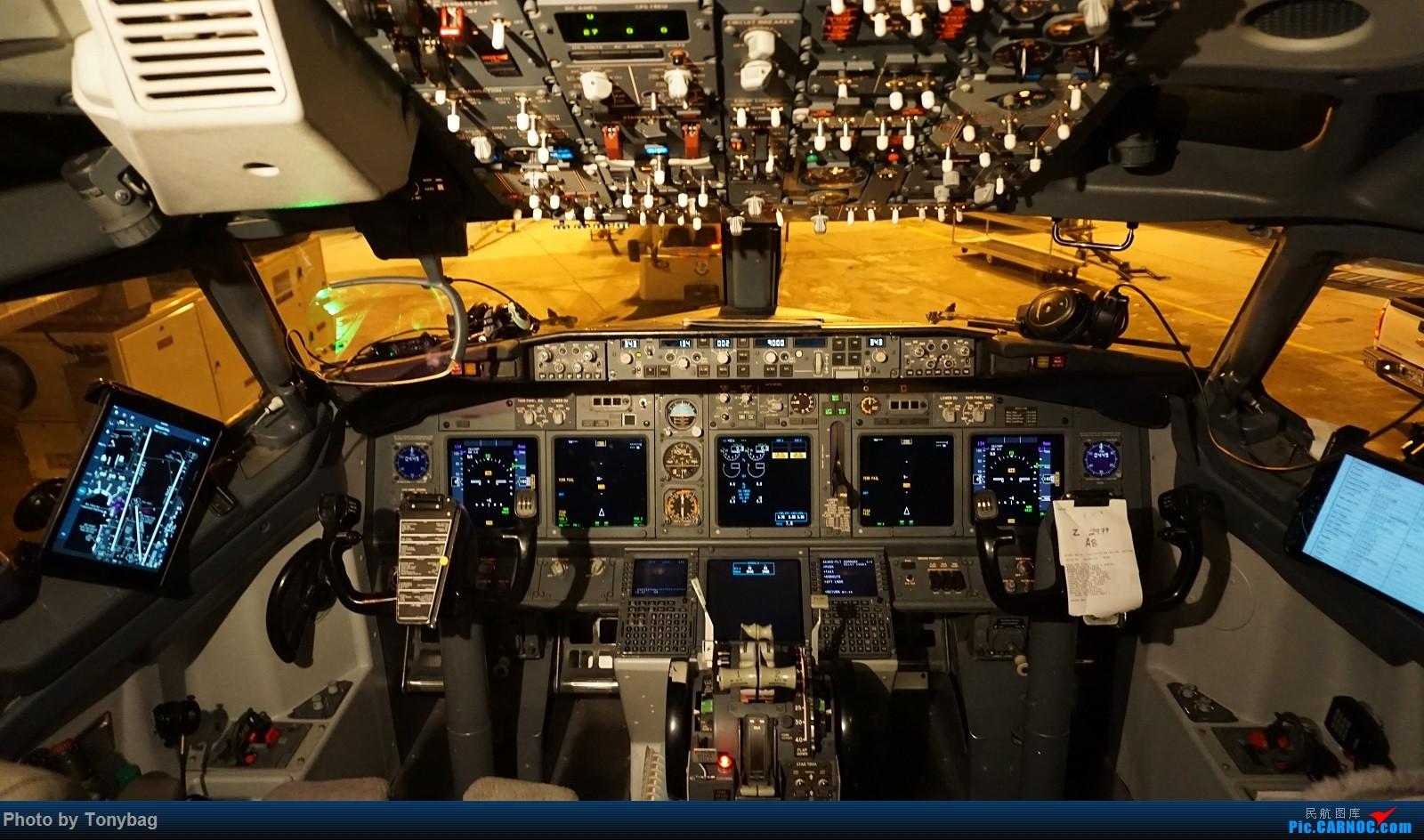 >>[原创]阿拉斯加航空波音737-700驾驶舱