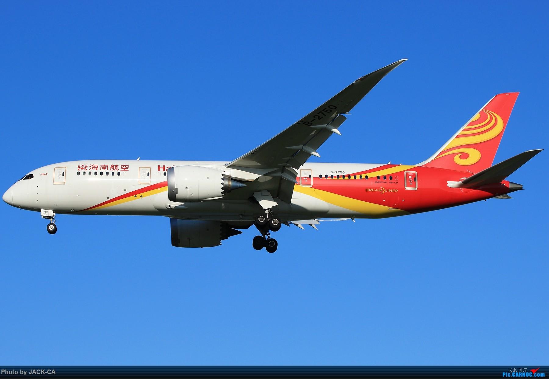 [原创]【组图】盘点在北京通航787的公司都有哪些 1800*1200 BOEING 787-8 B-2750 中国北京首都国际机场