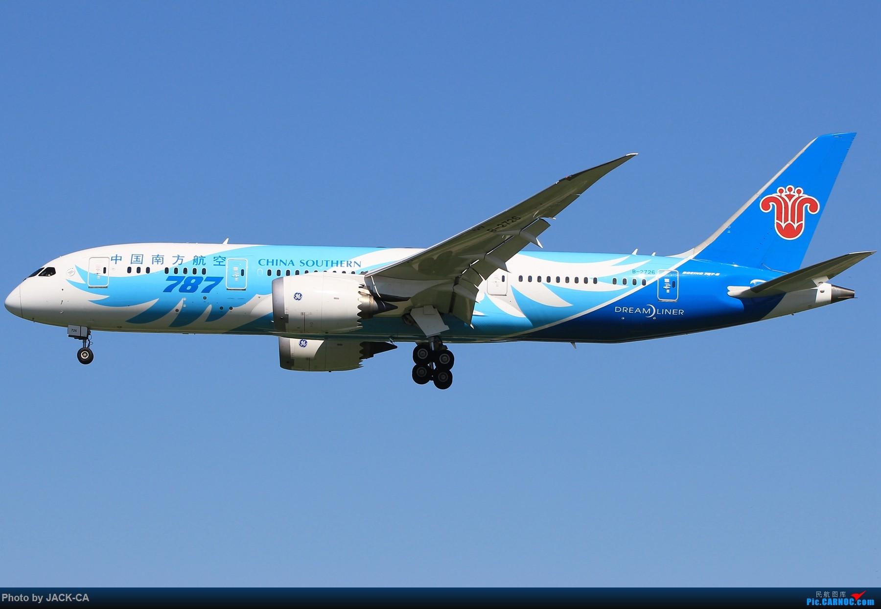Re:[原创]【组图】盘点在北京通航787的公司都有哪些 1800*1200 BOEING 787-8 B-2726 中国北京首都国际机场