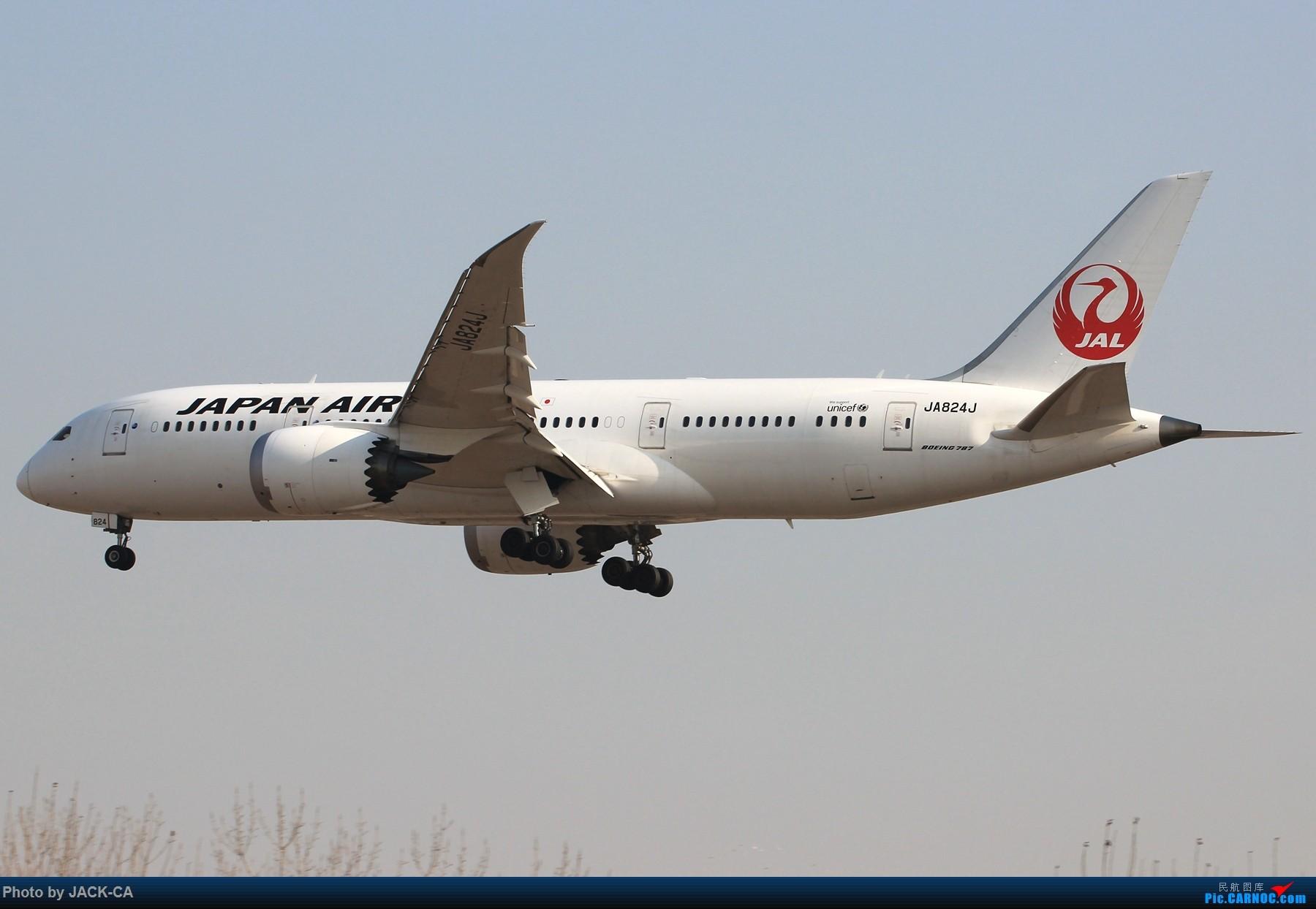 Re:[原创]【组图】盘点在北京通航787的公司都有哪些 1800*1200 BOEING 787-8 JA824J 中国北京首都国际机场