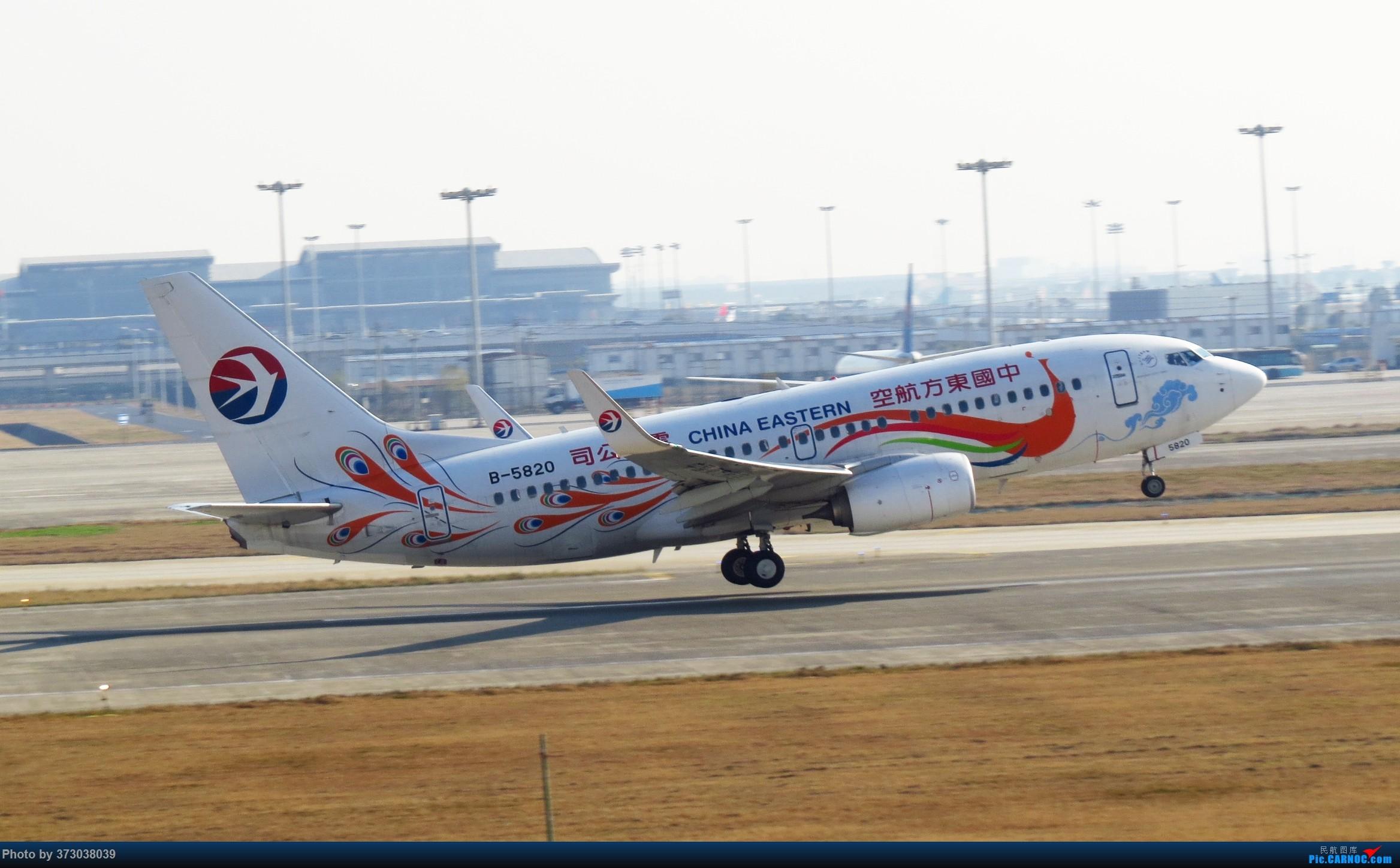 Re:[原创]【去年今天】杭州萧山国际机场 HGH 北跑道拍机 BOEING 737-700 B-5820 杭州萧山机场