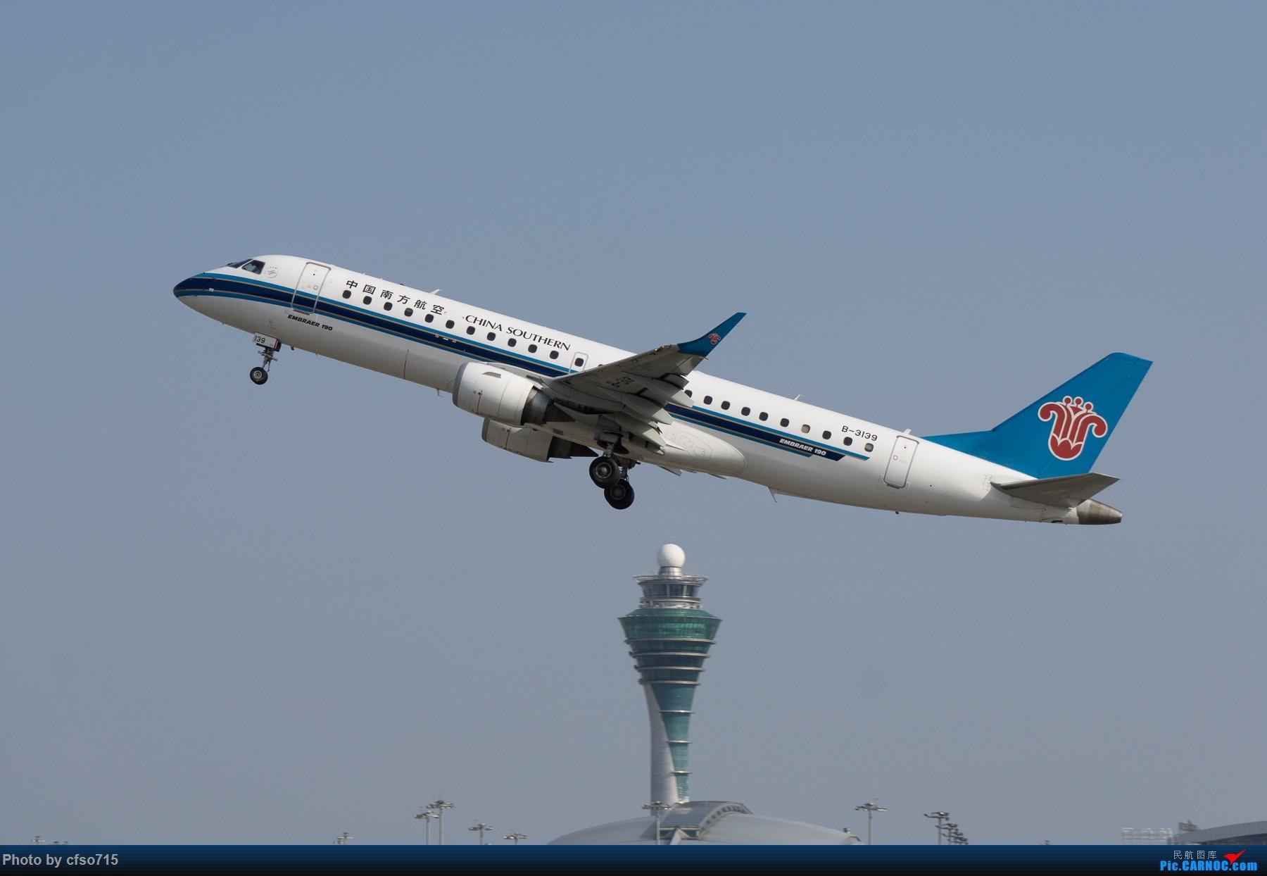 Re:[原创]一些15年的图 EMBRAER E-190 B-3139 中国广州白云国际机场
