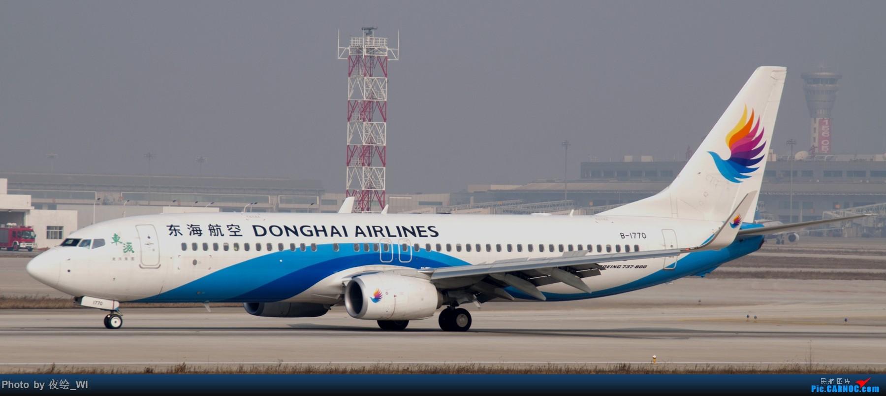 Re:[原创]NKG,2016新年第一拍,邮航734及众多彩绘 BOEING 737-800 B-1770 中国南京禄口国际机场