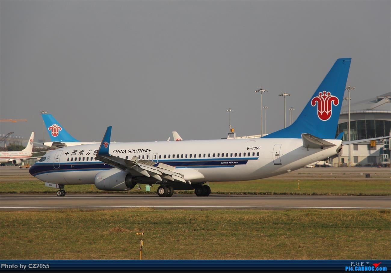 Re:[原创]Re:[原创]【广东青少年拍机小队】【C-Z-2055】2016第一拍,元旦快乐! BOEING 737-800 B-6069 中国广州白云国际机场