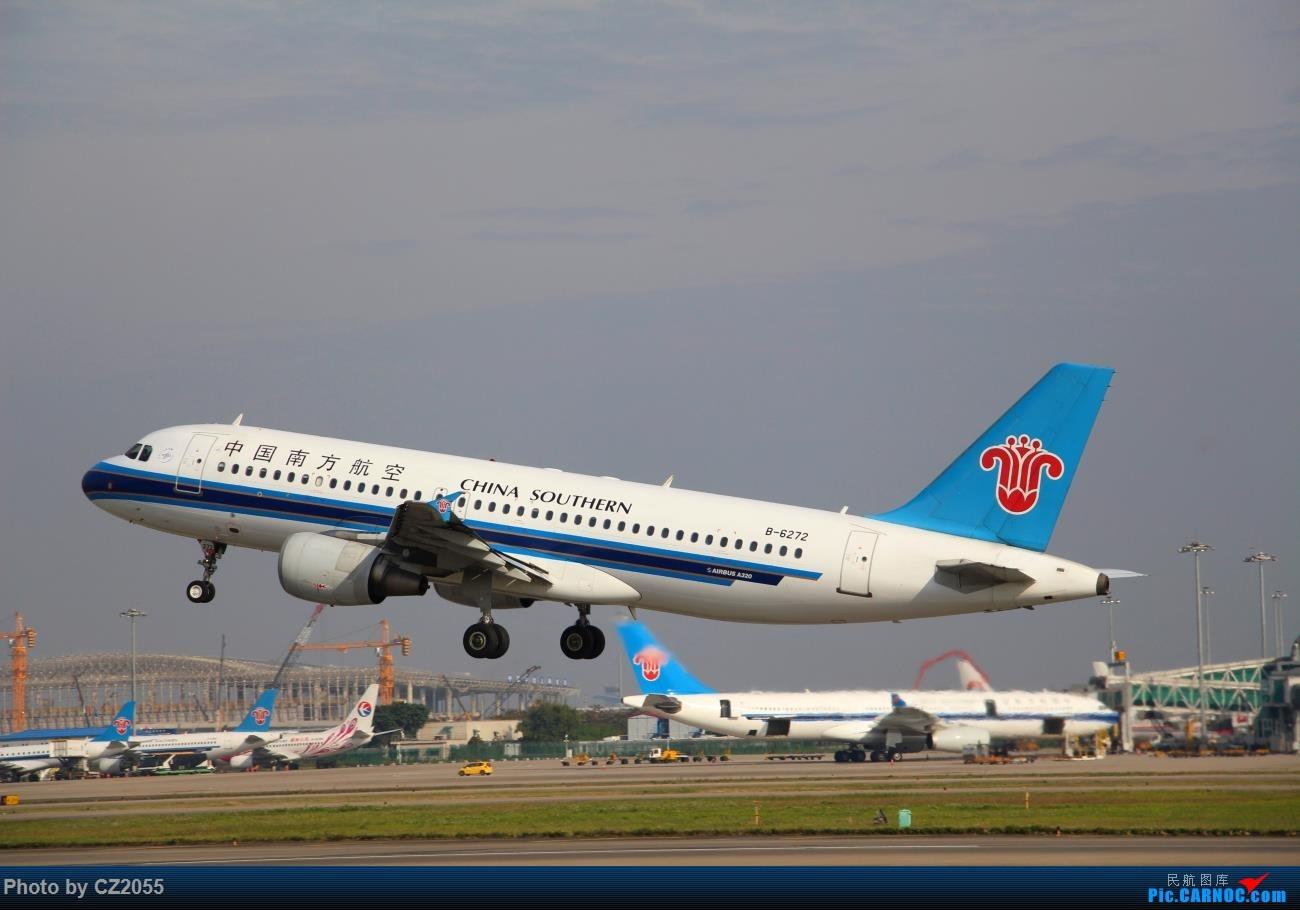 Re:[原创]Re:[原创]【广东青少年拍机小队】【C-Z-2055】2016第一拍,元旦快乐! AIRBUS A320-200 B-6272 中国广州白云国际机场
