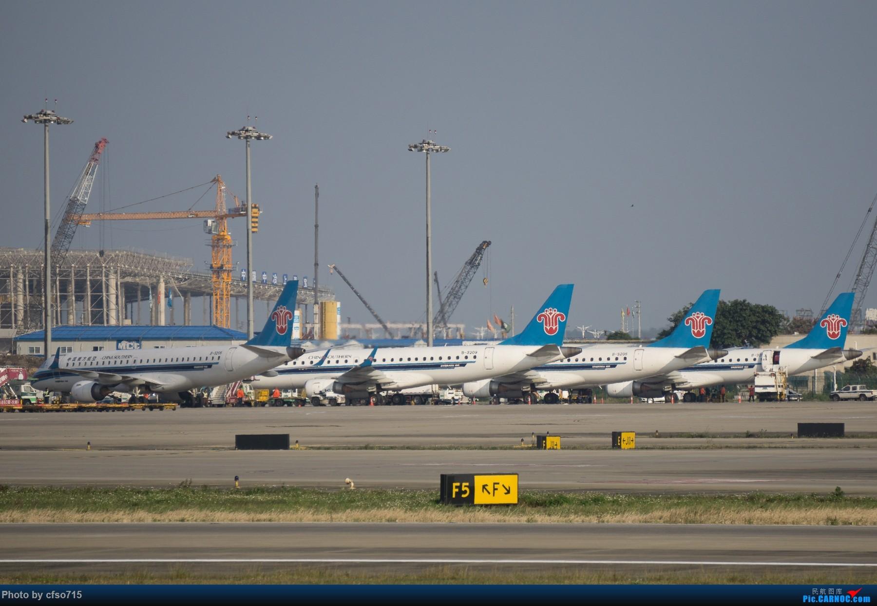 [原创]一些15年的图 EMBRAER E-190 B-3206 中国广州白云国际机场