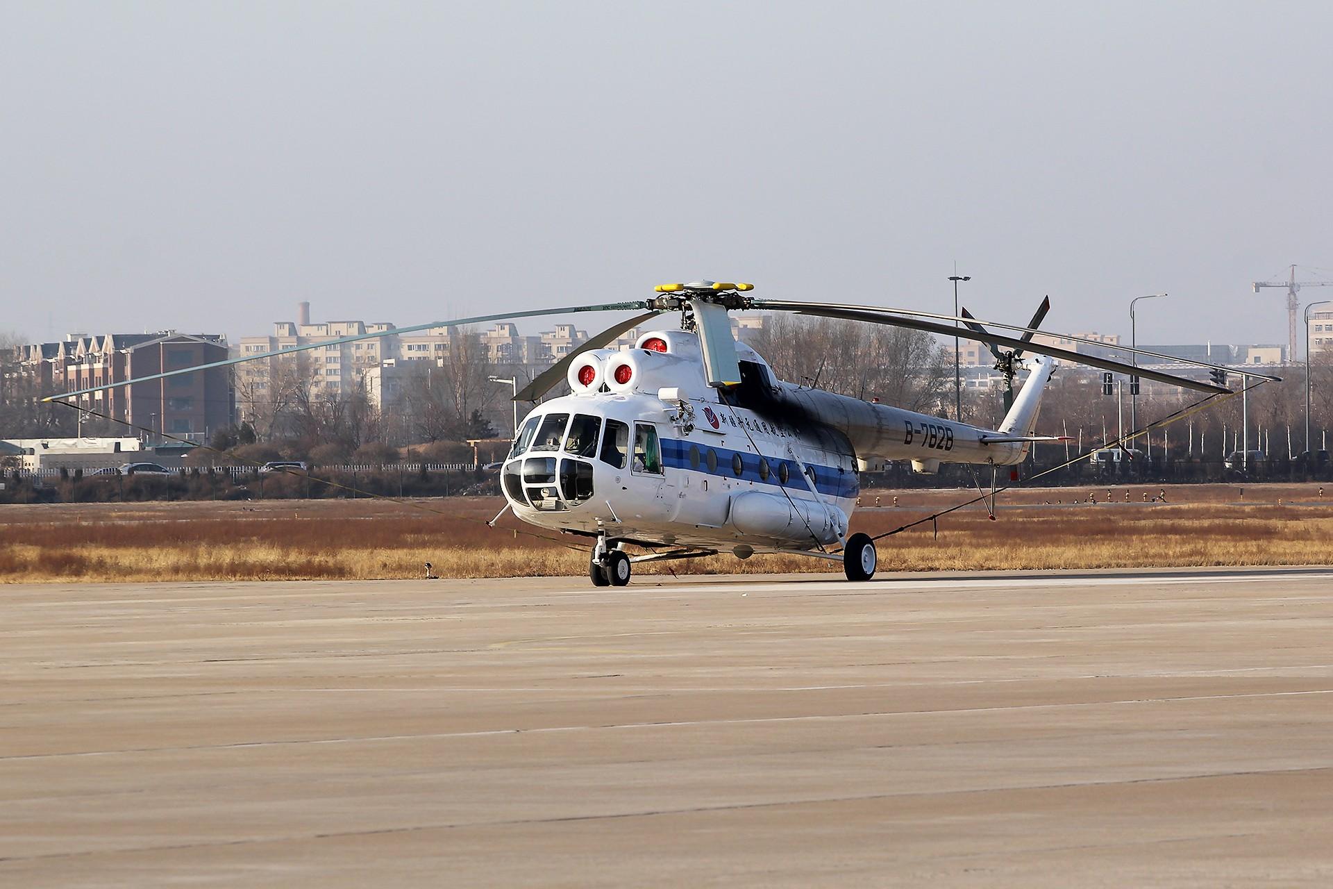 Re:[原创][CHG]。。。辽宁朝阳机场。。。 MI 8T B-7828 中国朝阳机场
