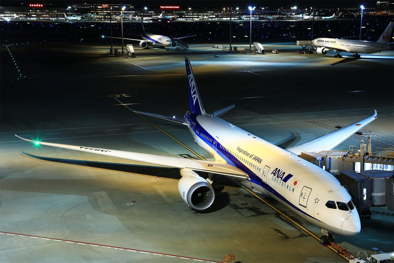 Re:[原创]【HND】******2016新年好,流窜羽田机场:全日空星战,汉莎1500th,以及一些大路货****** BOEING 787-8 JA834A 日本东京羽田国际机场