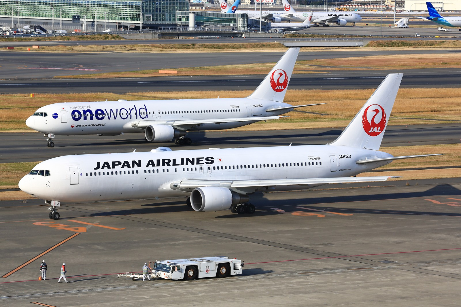 Re:[原创]【HND】******2016新年好,流窜羽田机场:全日空星战,汉莎1500th,以及一些大路货****** BOEING 767-300 JA612J 日本东京羽田国际机场