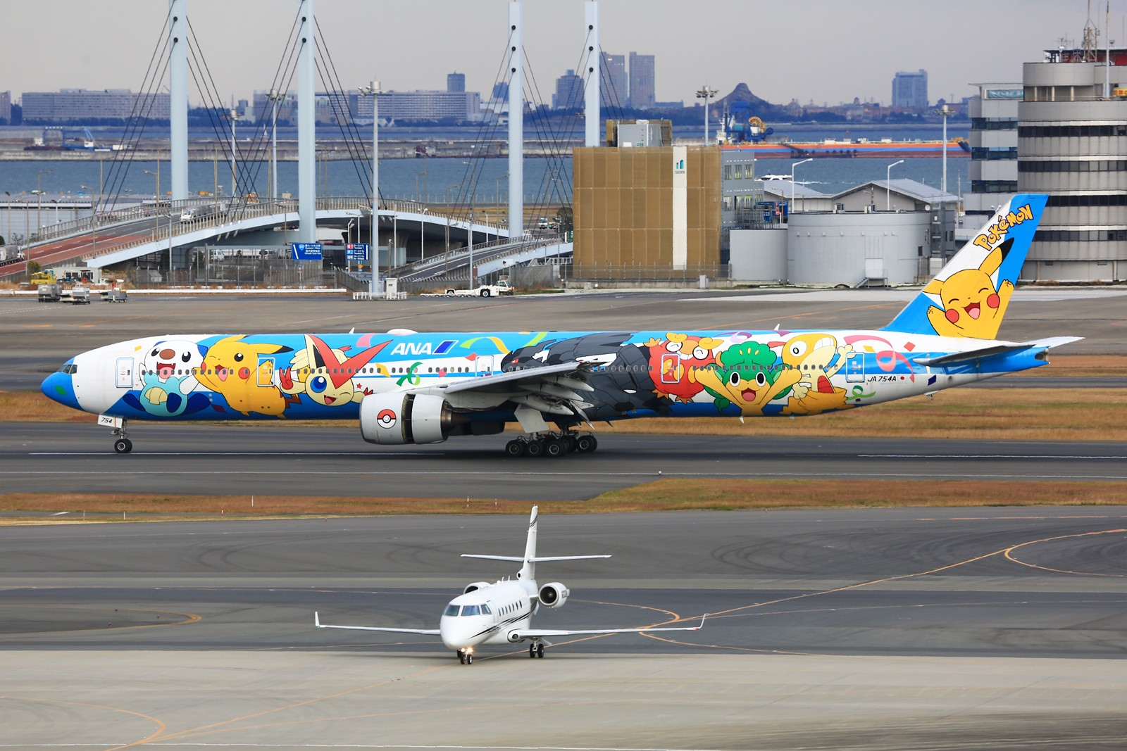 Re:[原创]【HND】******2016新年好,流窜羽田机场:全日空星战,汉莎1500th,以及一些大路货****** BOEING 777-300 JA754A 日本东京羽田国际机场