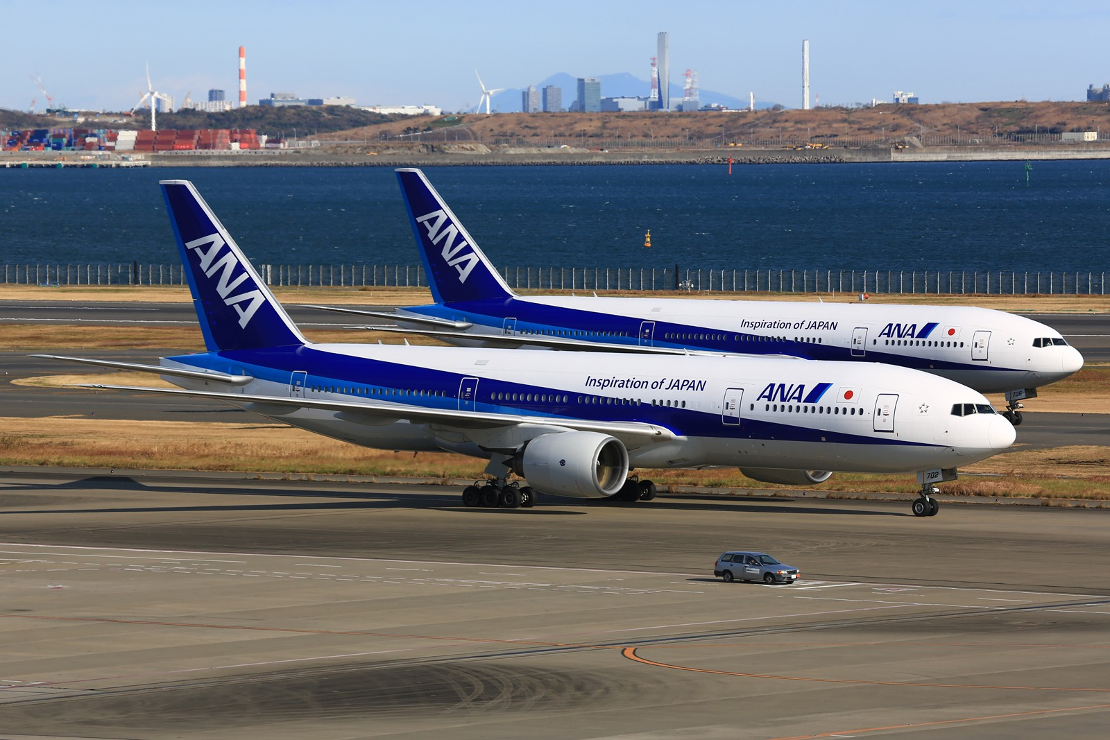 Re:[原创]【HND】******2016新年好,流窜羽田机场:全日空星战,汉莎1500th,以及一些大路货****** BOEING 777-200 JA702A 日本东京羽田国际机场