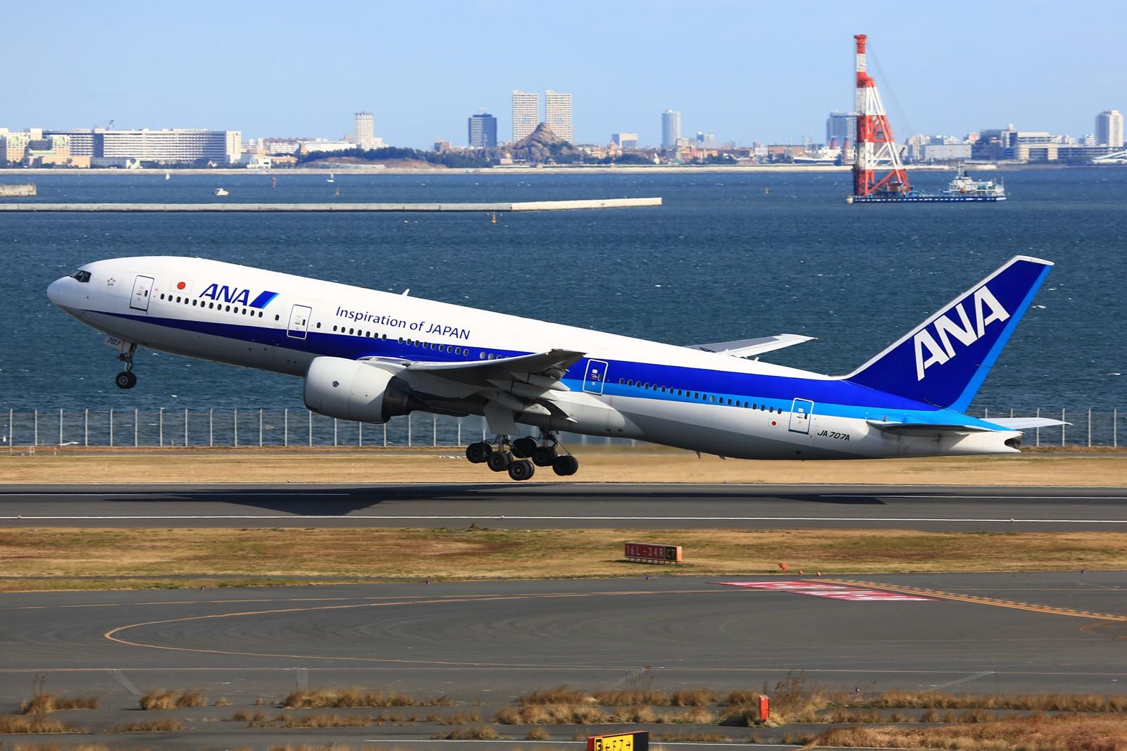Re:[原创]【HND】******2016新年好,流窜羽田机场:全日空星战,汉莎1500th,以及一些大路货****** BOEING 777-200 JA707A 日本东京羽田国际机场