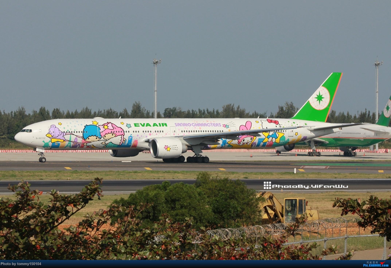 [原创]新手試貼 TPE台北桃園 BOEING 777-300ER B-16722 中国台北桃园国际机场