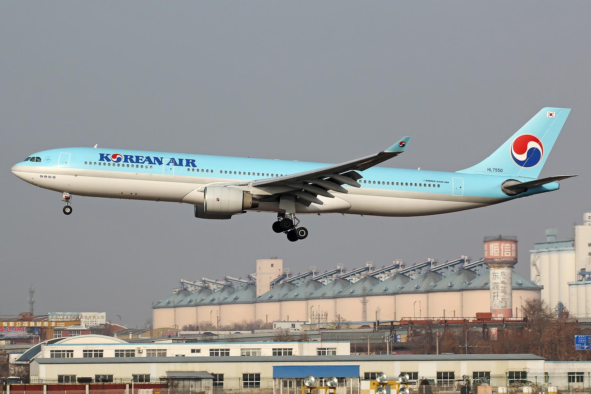 Re:[原创][DLC]。。。省略号吧,无标题。。。 AIRBUS A330-300 HL7550 中国大连国际机场