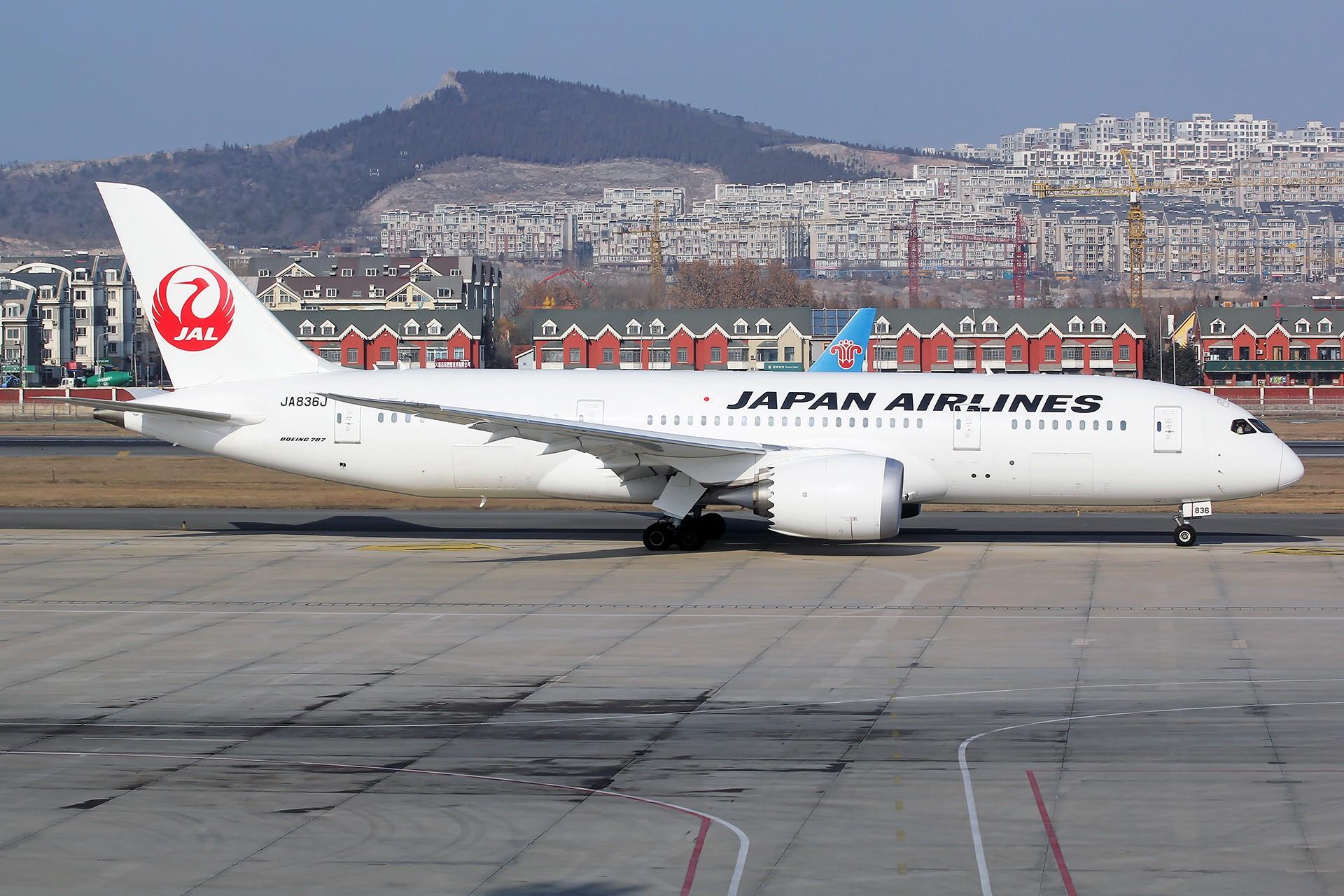 Re:[原创][DLC]。。。省略号吧,无标题。。。 BOEING 787-8 JA836J 中国大连国际机场