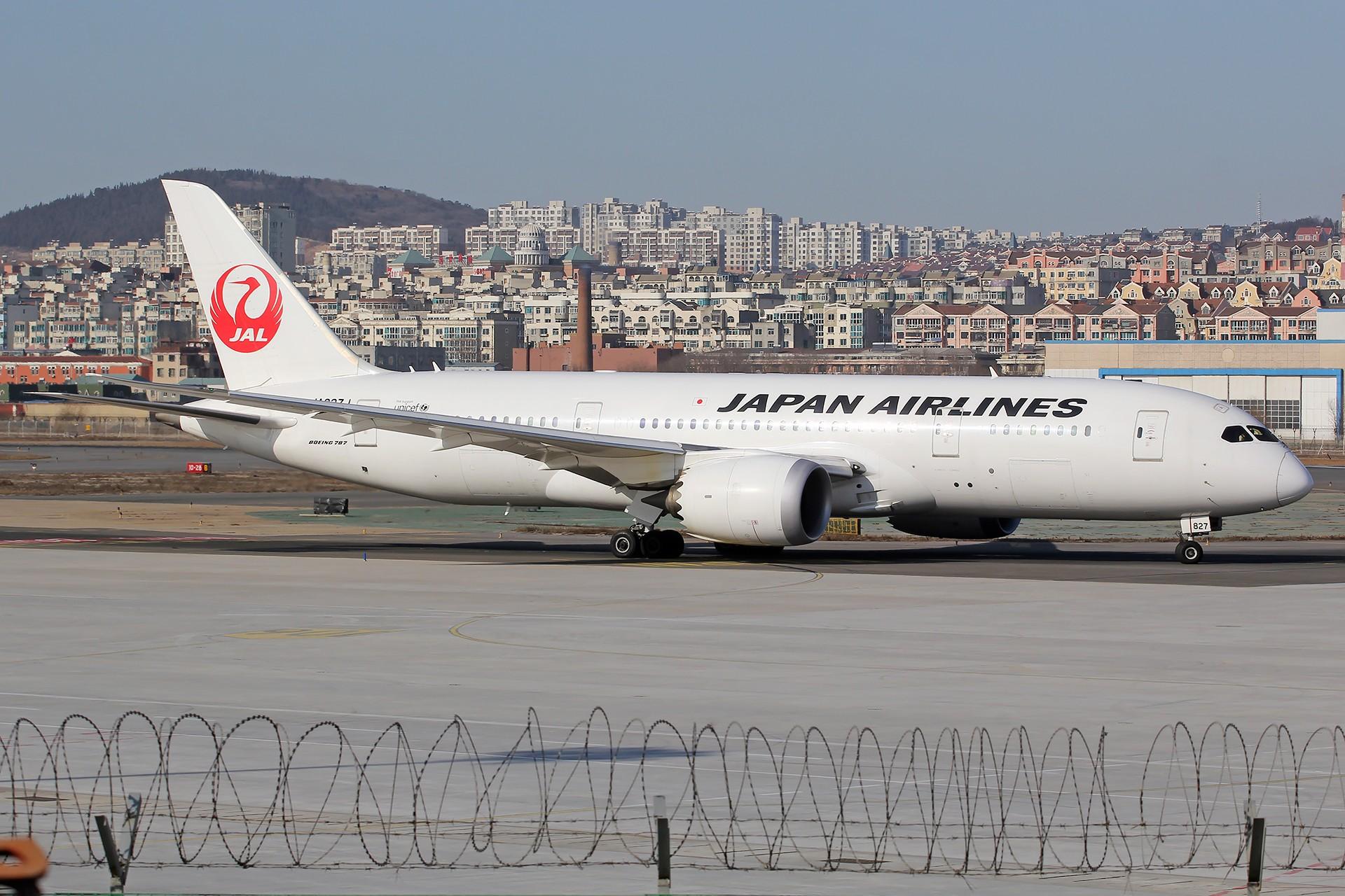 Re:[原创][DLC]。。。省略号吧,无标题。。。 BOEING 787-8 JA827J 中国大连国际机场