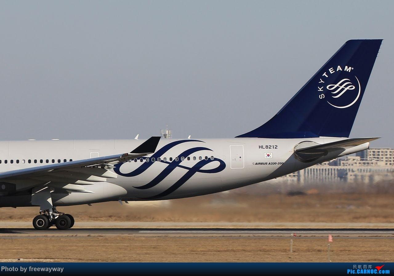 Re:[原创]:【TSN飞友会】2016首贴,好天好机,大韩天合联盟 2 AIRBUS A330-200 HL8212 中国天津滨海国际机场