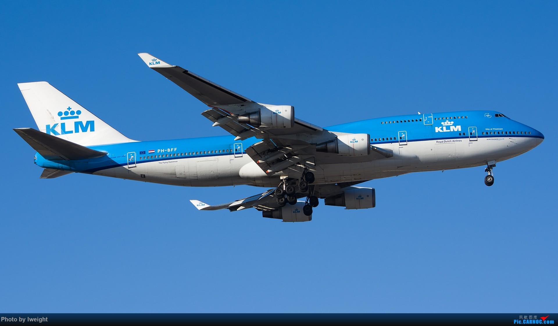 Re:[原创]又见蓝月亮 BOEING 747-400 PH-BFF 中国北京首都国际机场