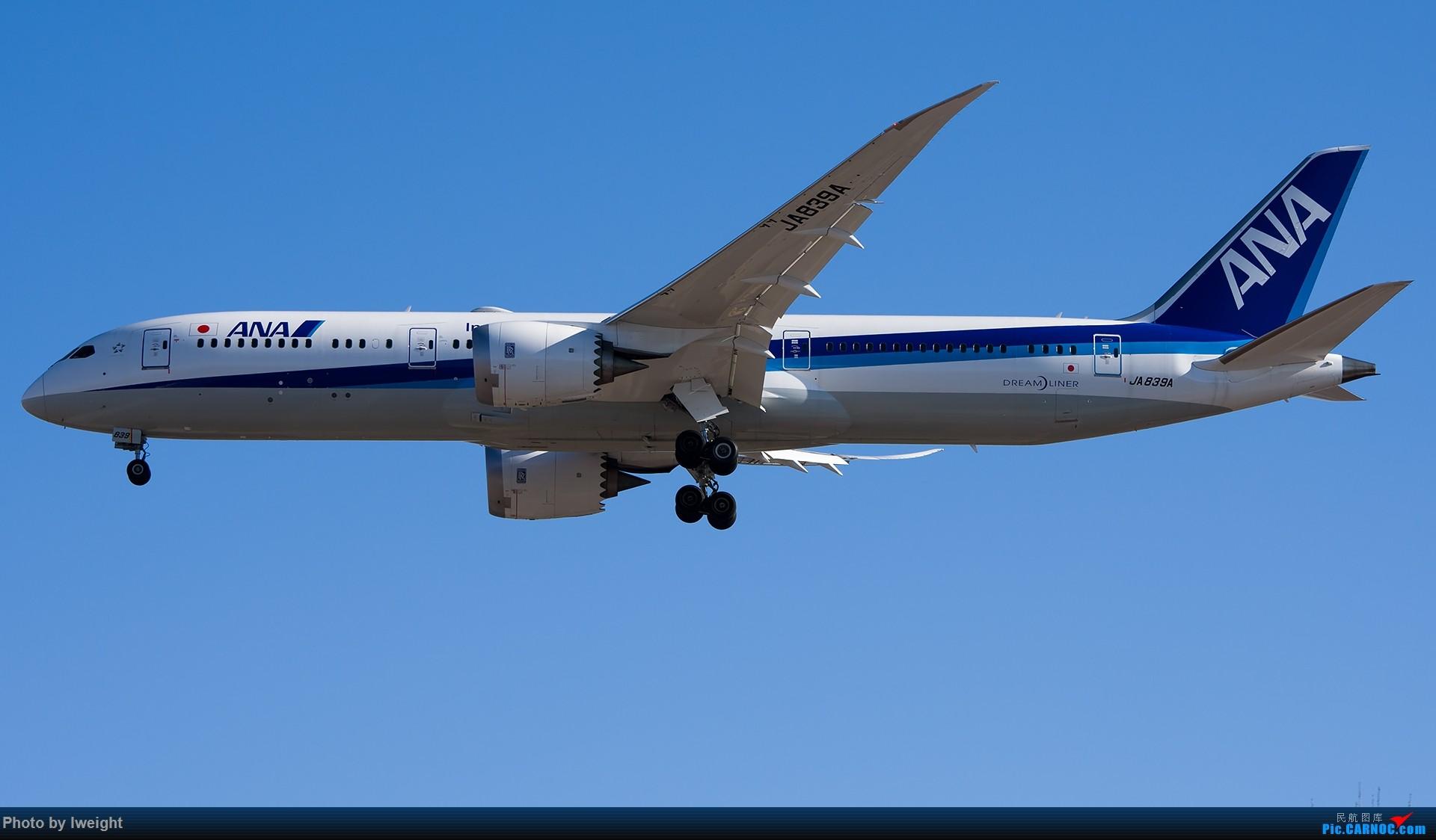 Re:[原创]又见蓝月亮 BOEING 787-9 JA839A 中国北京首都国际机场