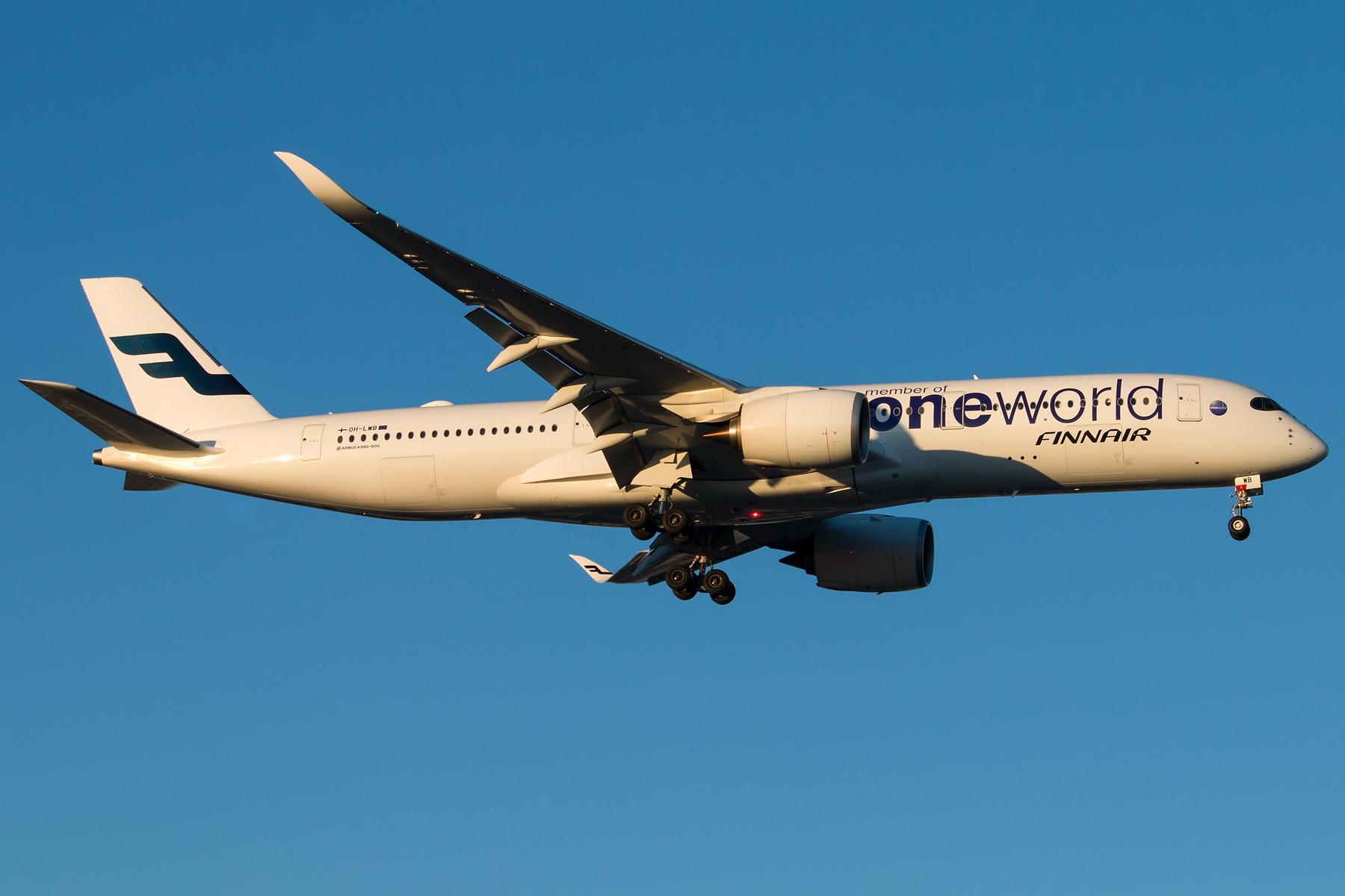 [原创][一图党] 芬兰航空A350XWB,OH-LWB oneworld涂装机 1800*1200 AIRBUS A350-941 OH-LWB 中国北京首都国际机场