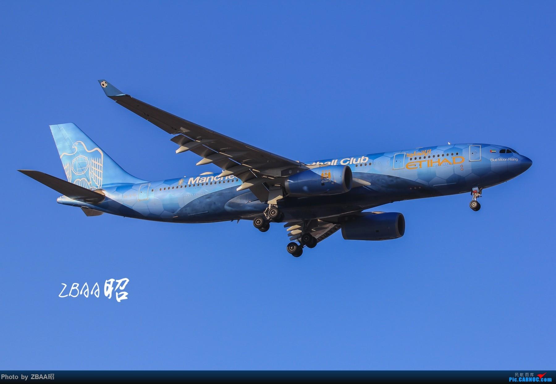 Re:[原创]迟到贴 芬兰航空ow,阿提哈德蓝月亮,接他们来送他们走 AIRBUS A330-200 A6-EYE 中国北京首都国际机场