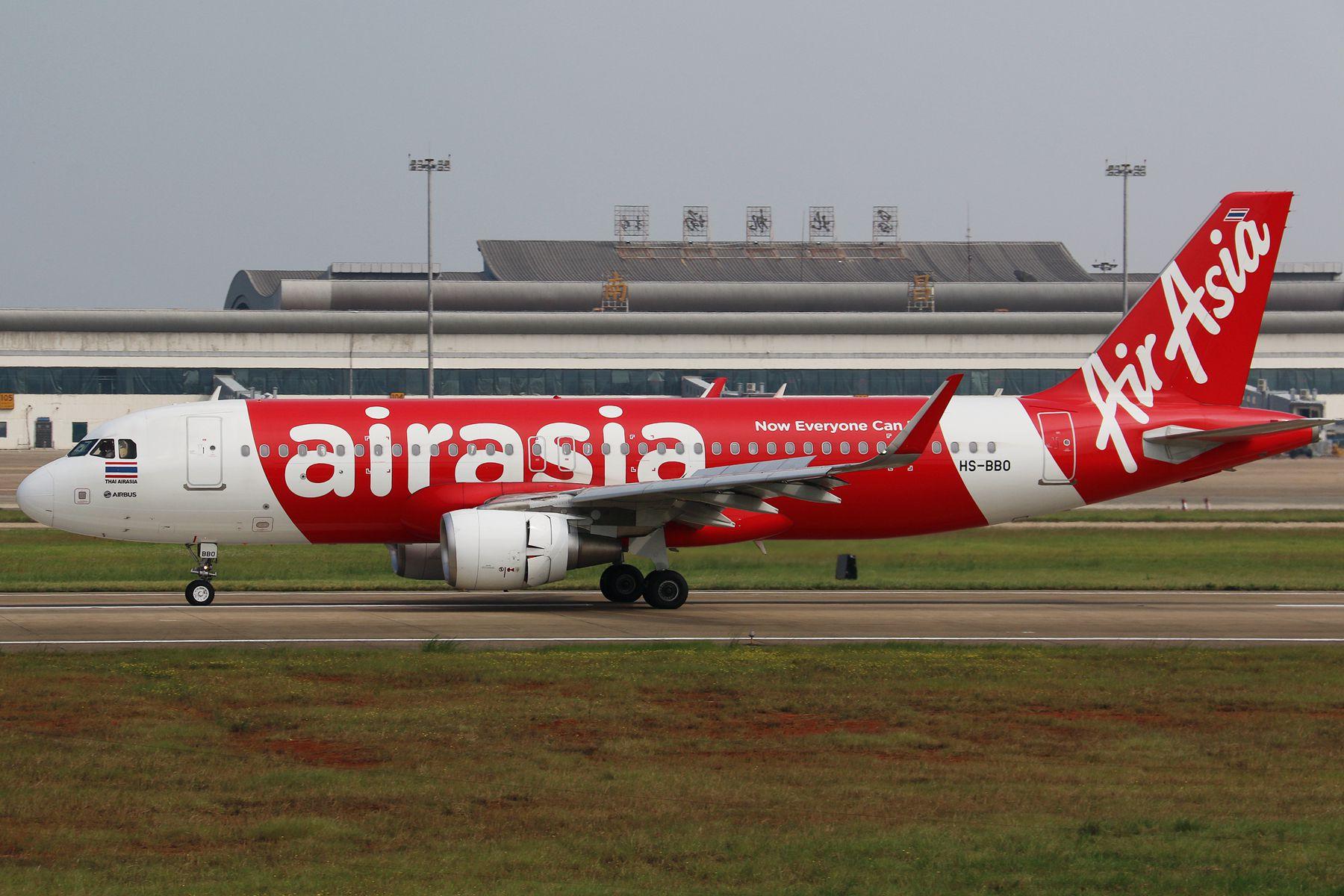 去年的9月27日,亚航首航南昌 AIRBUS A320-200 HS-BBO 中国南昌昌北国际机场
