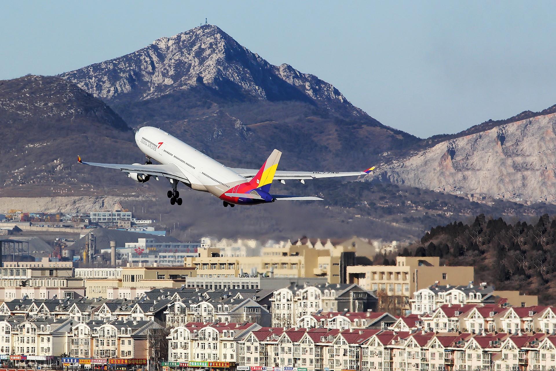 Re:[原创][DLC]。。。韩亚330-300。。。 AIRBUS A330-300  中国大连国际机场
