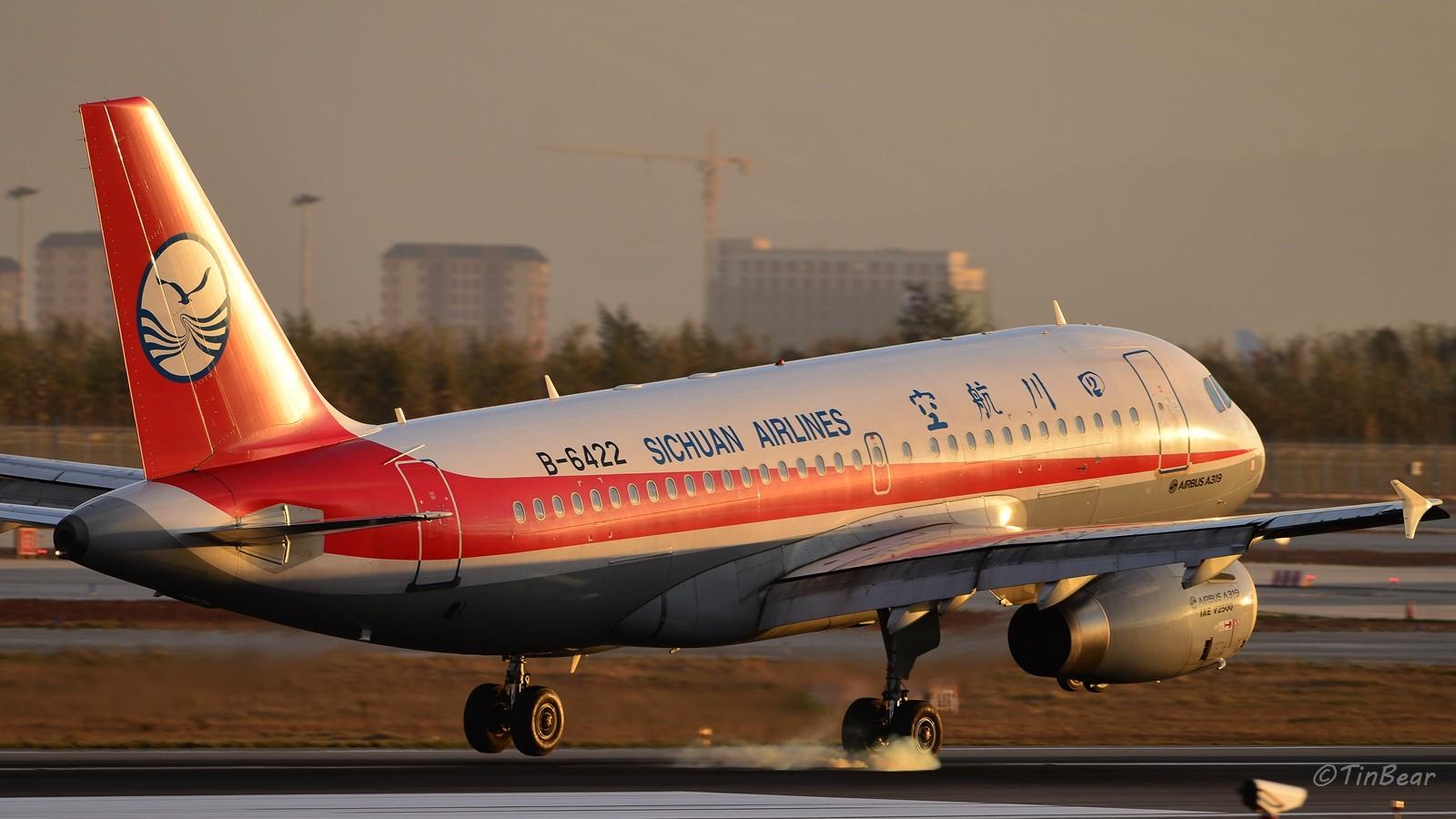 Re:[原创]【KMG】这烟,吸多了对肺不好,擦多了对轮胎不好 AIRBUS A319-100 B-6422 中国昆明长水国际机场