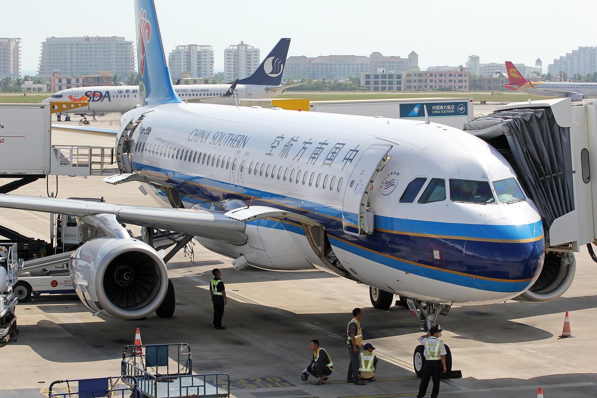 Re:[原创][DLC]。。。DLC & SYX。。。 AIRBUS A320-200 B-9916 中国三亚凤凰国际机场