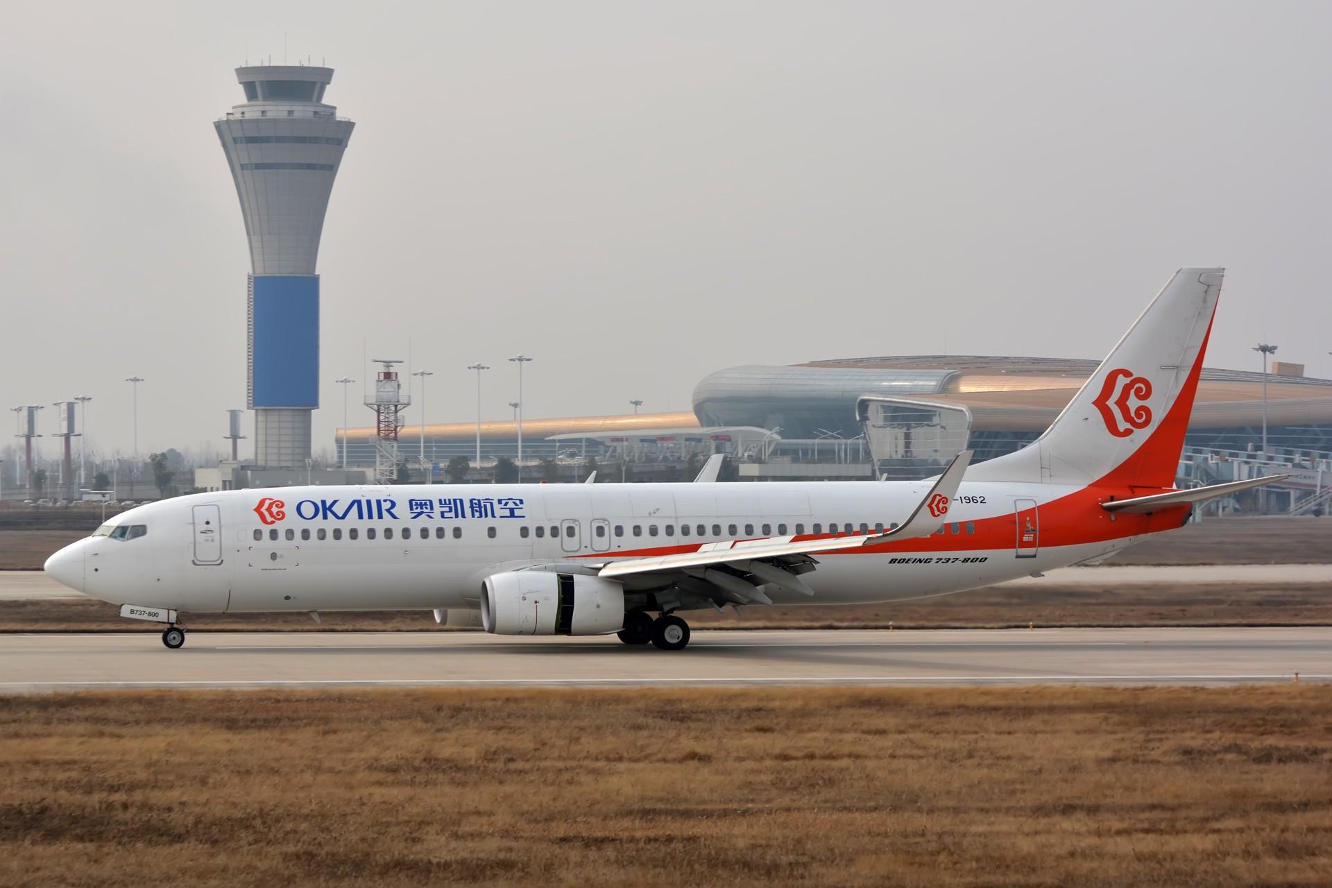 Re:[原创]【合肥飞友会·霸都打机队】除了电风扇就是常规货大图1920×1280 BOEING 737-800 B-1962 中国合肥新桥国际机场