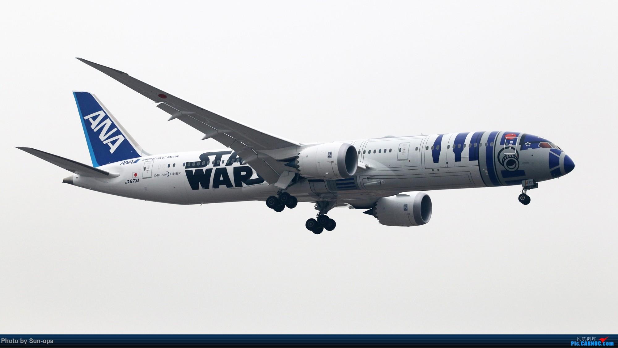 Re:[原创]【Sun-upa】2016新年第一拍 PEK好货不少 BOEING 787-9 JA873A 中国北京首都国际机场