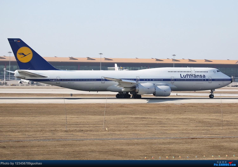 Re:[原创]汉莎复古迎来送往 BOEING 747-8I D-ABYT 北京首都机场
