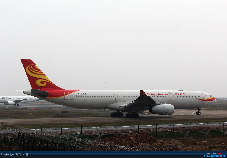 Re:[原创]CKG拍机(新年第一拍,川农th100,巧遇海航长安银行,小门神彩绘) AIRBUS A330-300 B-6539 重庆江北国际机场