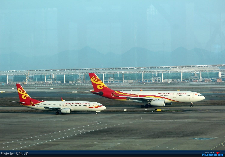 Re:[原创]CKG拍机(新年第一拍,川农th100,巧遇海航长安银行,小门神彩绘) AIRBUS A330-200  重庆江北国际机场