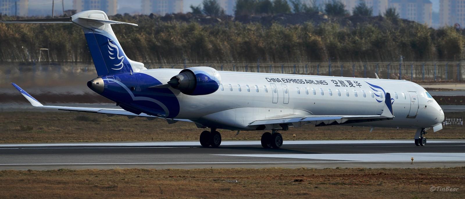 Re:[原创]与CRJ900NextGen在长水相遇,Hello Bombardier BOMBARDIER CRJ900NG B-3363 中国昆明长水国际机场