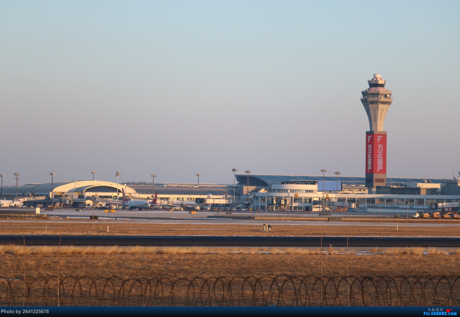 Re:[原创]pek寒风下的守候    中国北京首都国际机场