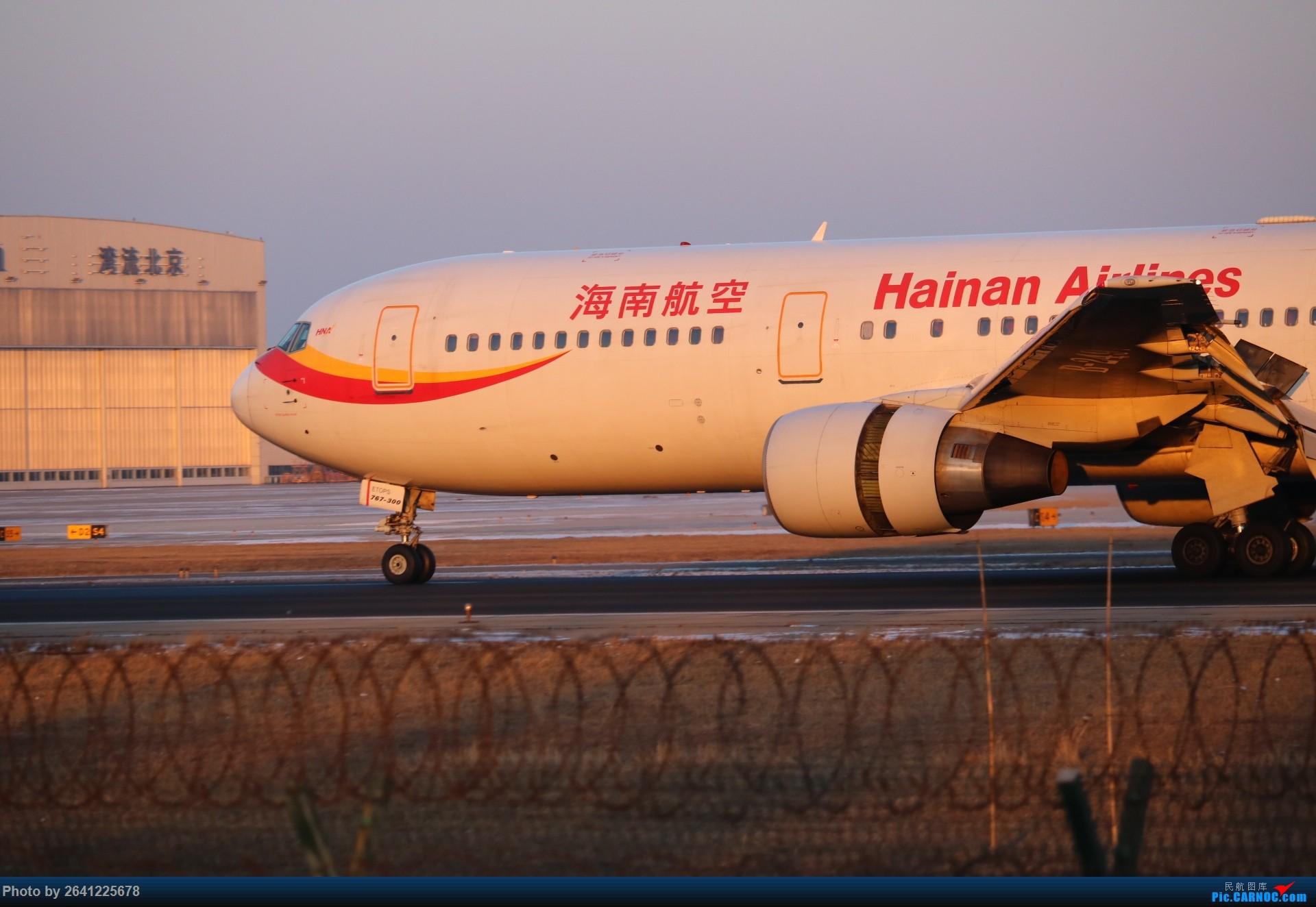 Re:[原创]pek寒风下的守候 BOEING 767-300 B-2491 中国北京首都国际机场